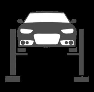 coche subido